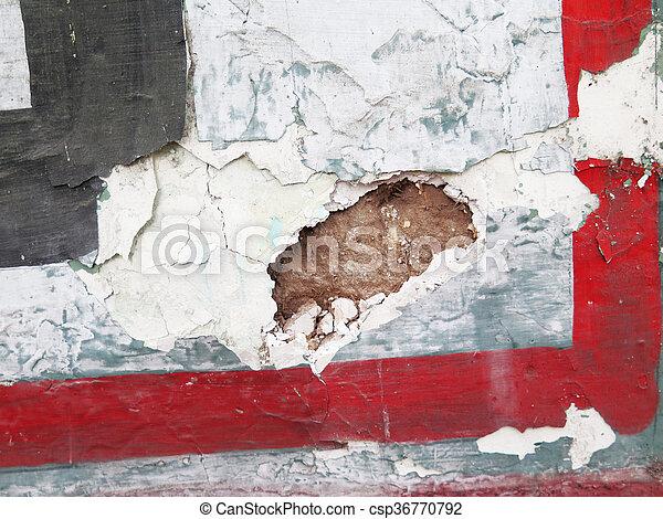 Colorful paint splashes Background - csp36770792