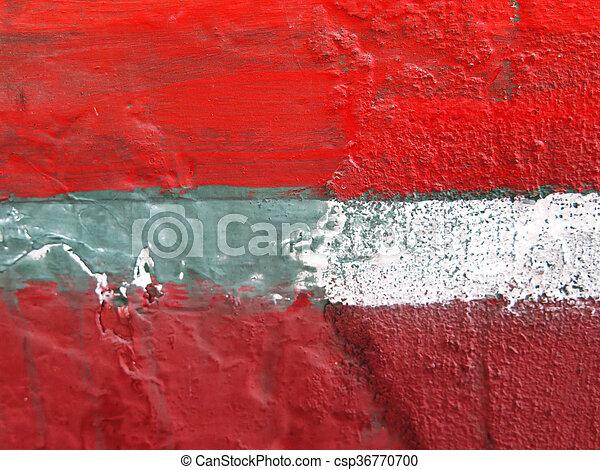 Colorful paint splashes Background - csp36770700