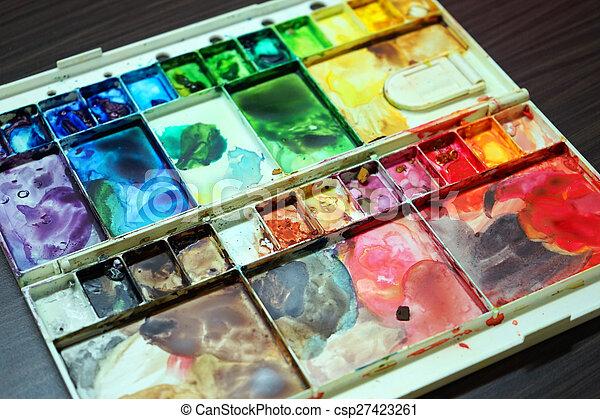 Colorful Palette - csp27423261