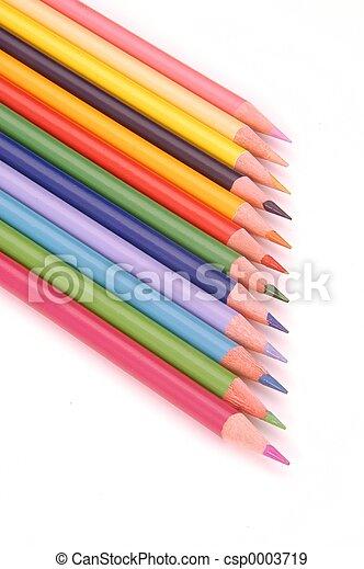 Colorful Pencils - csp0003719