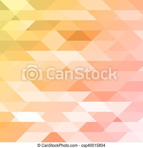 Colorful Pink Orange Green Polygonal Background Triangular Polygons In Origami Style With