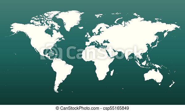 Colorful political world map on green background world map eps colorful political world map on green background world map vector template for website gumiabroncs Gallery