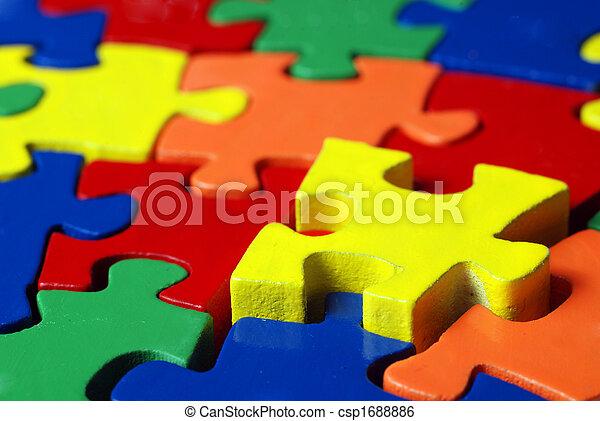 Colorful puzzle - csp1688886