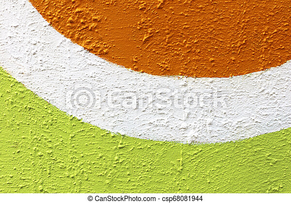 colorful rough cement wall texture background - csp68081944