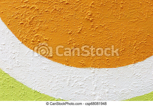 colorful rough cement wall texture background - csp68081948