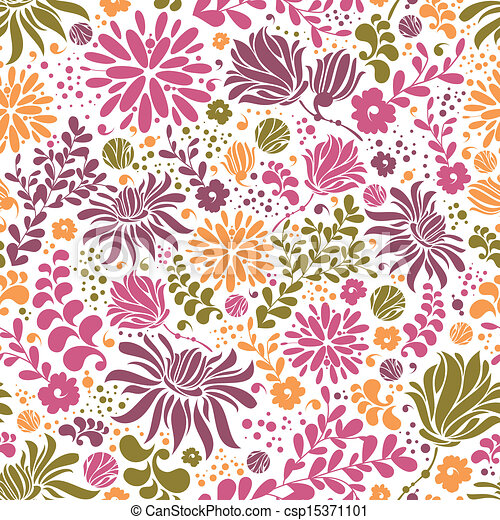 colorful seamless pattern - csp15371101