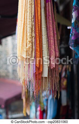 colorful shawls - csp20831060