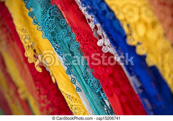 Colorful Shawls - csp15206741