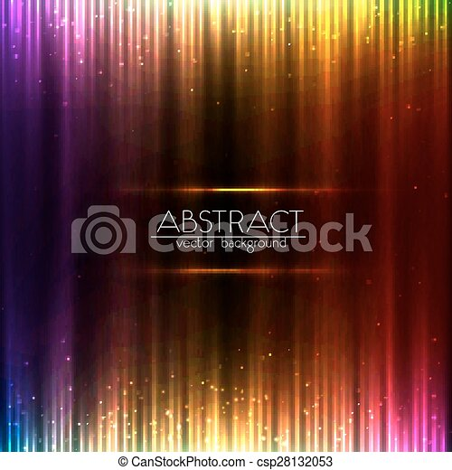Colorful shining equalizer abstract background - csp28132053