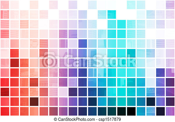 Colorful Simplistic and Minimalist Abstract - csp1517879