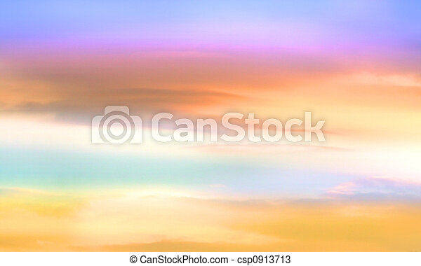 Colorful Sky Background - csp0913713
