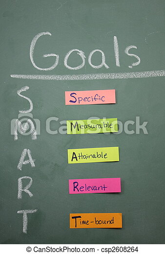 Colorful Smart Goals - csp2608264
