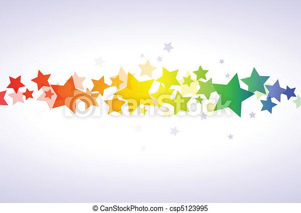 Colorful stars wallpaper - csp5123995