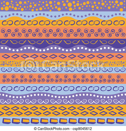 Colorful stripe pattern - csp9045612