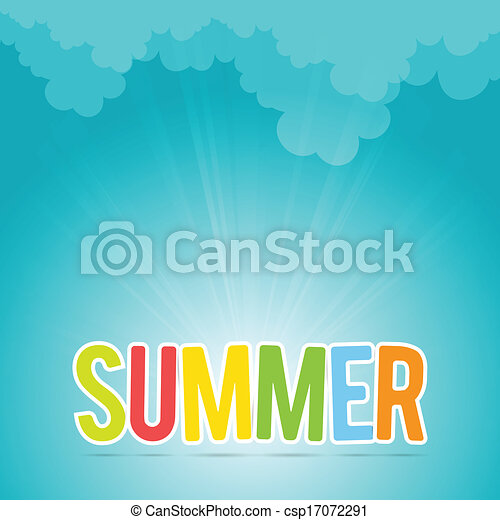 Colorful Summer - csp17072291