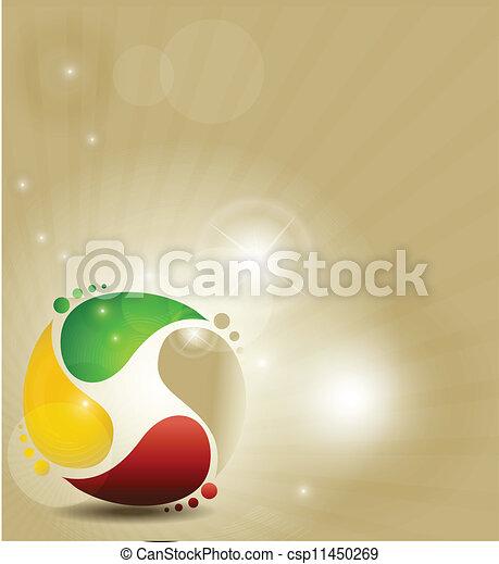 colorful symbol - csp11450269