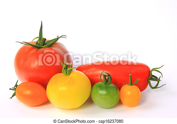 Colorful tomatoes - csp16237080