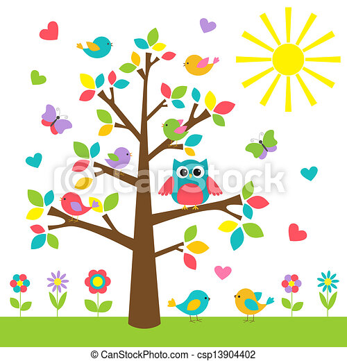 cute owl clipart vector graphics you ll love 13 693 cute owl eps rh canstockphoto com owl in tree silhouette clip art owl tree branch clip art
