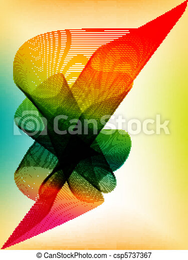 Colorful vector background - csp5737367