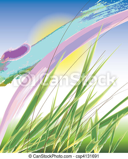 Colorful vector background - csp4131691