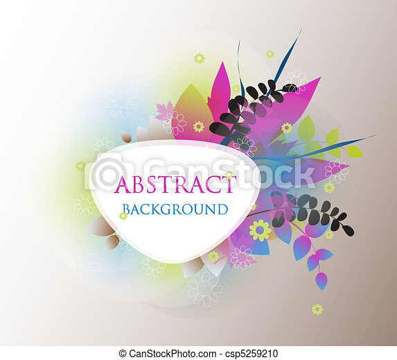 Colorful vector background. - csp5259210