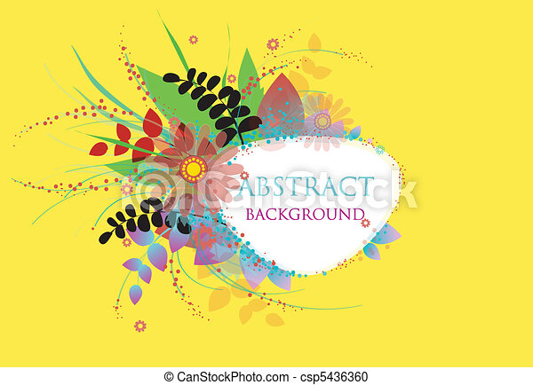 Colorful vector background - csp5436360