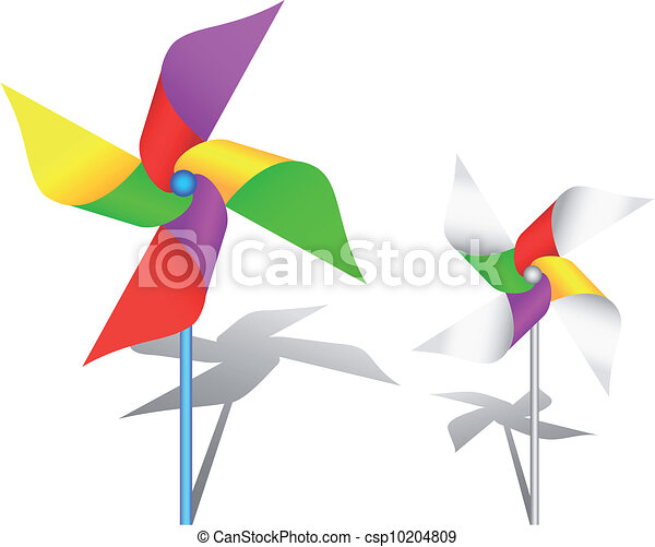Colorful windmill toy - csp10204809