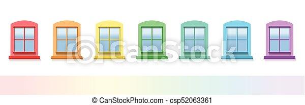 Colorful Windows - csp52063361