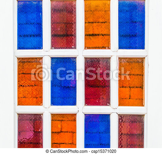 Colorful windows. - csp15371020