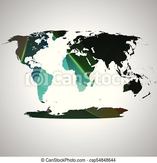 Colorful world map vector colorful world map vector gumiabroncs Gallery