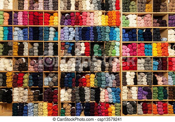 Colorful yarn - csp13579241