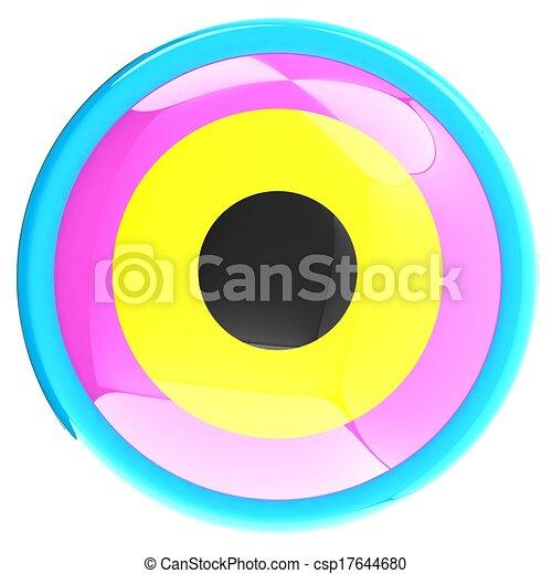 Colorfull button - csp17644680