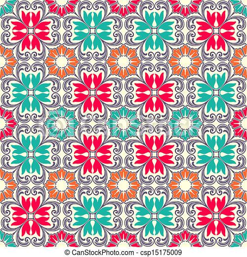Tejas de adorno sin manchas - csp15175009