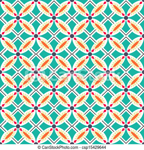 Tejas de adorno sin manchas - csp15429644