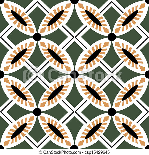 Tejas de adorno sin manchas - csp15429645