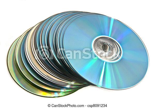 Cds coloridos - csp8091234