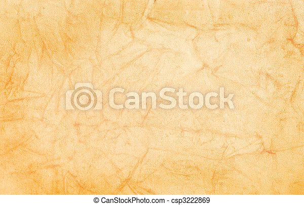 colorido, experiência., papel, grungy, terracota, pergaminho - csp3222869