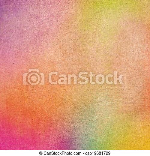 Textura de fondo grunge colorida - csp19681729