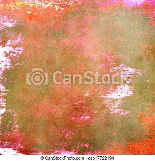 Textura de fondo grunge colorida - csp17722194