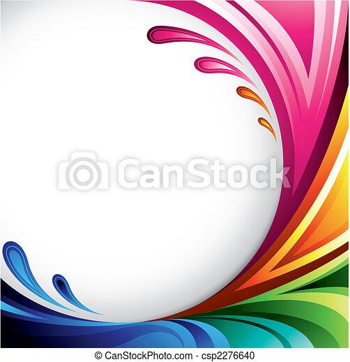Un fondo colorido - csp2276640