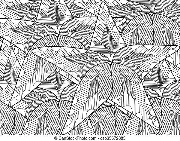 Vector de colores de Starfish para adultos - csp35672885