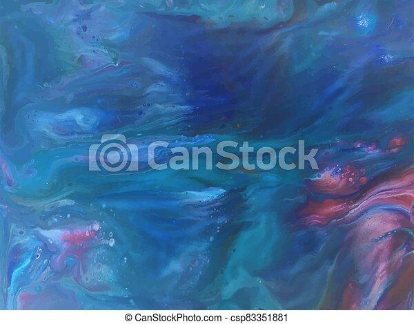 colorido, way., plano de fondo, universe., color, vector, galaxy., cosmos, espacio, infinito, realista, lechoso, magia, stardust, nebula. - csp83351881