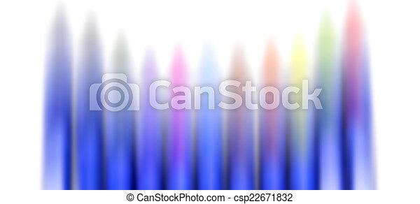 coloridos, creions - csp22671832