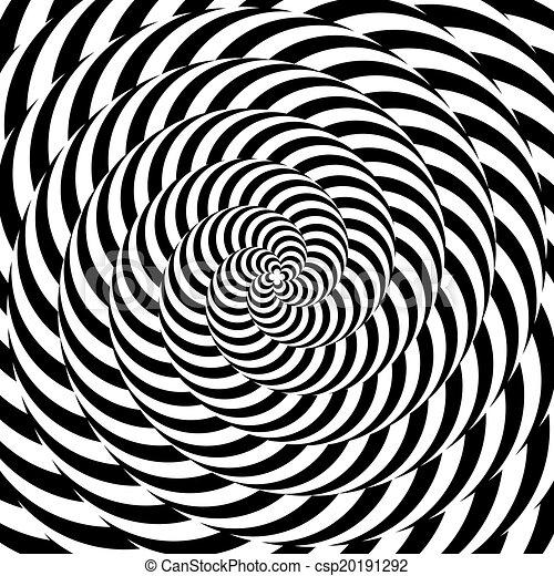 coloridos, desenho, circular, fundo, whirlpool, ilusão, movimento - csp20191292