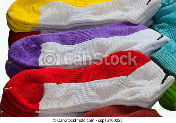 coloridos, meias - csp16168023