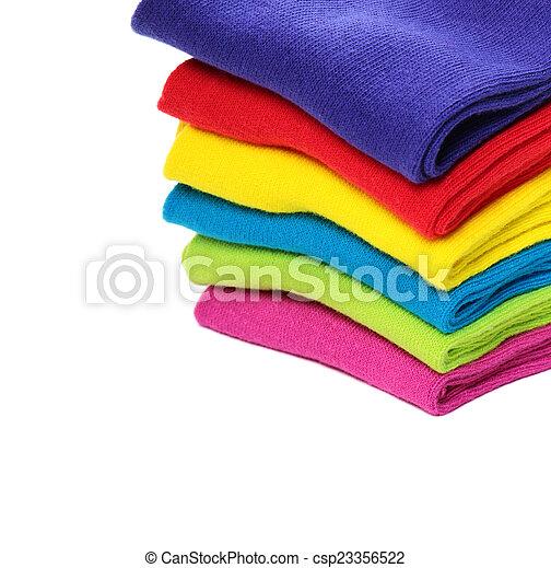 coloridos, meias - csp23356522