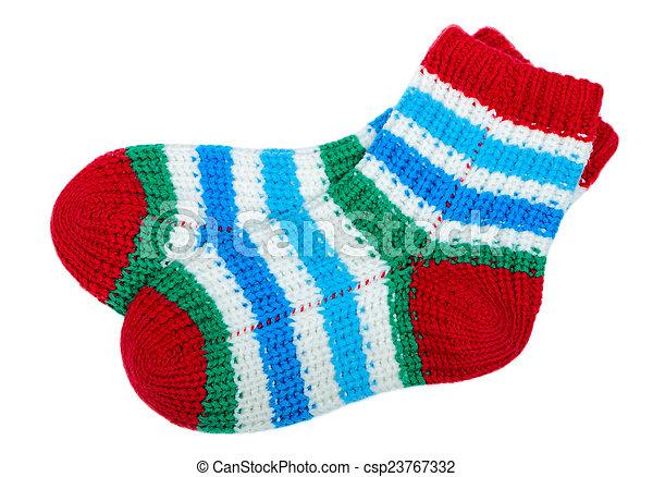 coloridos, meias - csp23767332