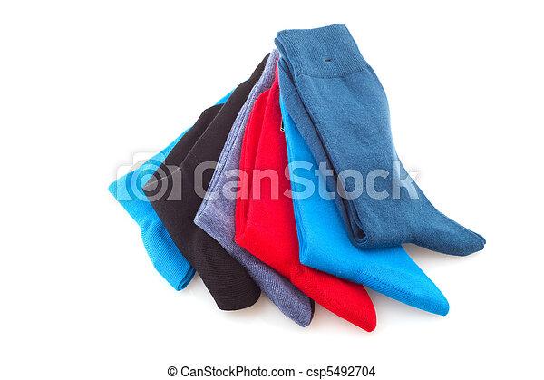 coloridos, meias - csp5492704