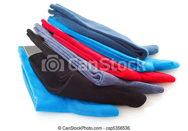 coloridos, meias - csp5356536
