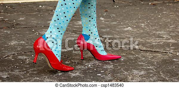 coloridos, meias - csp1483540